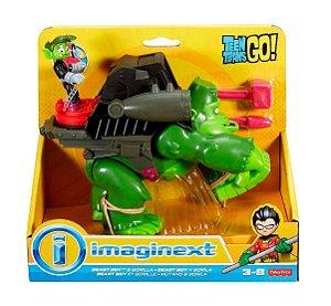 Brinquedo Jovens Titãs Mutano e Gorila Imaginext Dtm82