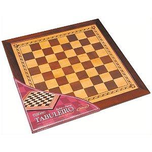 Tabuleiro de Xadrez e Damas Serie Especial Xalingo 55cm