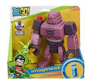 Brinquedo Jovens Titãs Cinderblock e Mutano Imaginext Dtm82