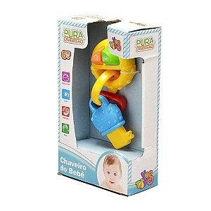 Brinquedo Infantil Chaveiro Do Bebê YesToys Pura Diversão