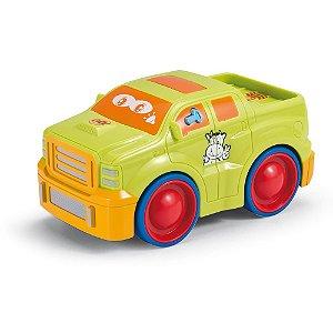 Brinquedo Veículos Tunados Caminhonete Verde Yes Toys 20001