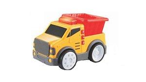 Brinquedo Super Caminhão De Carga Aperta e Anda Yes Toys