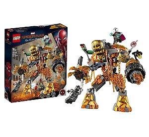 Lego Homem Aranha Batalha contra o Monstro de Fogo 76128