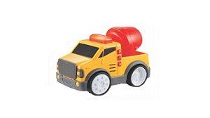Brinquedo Super Caminhão De Obras Aperta e Anda Yes Toys