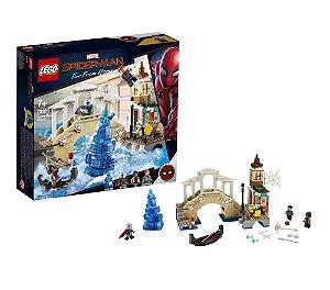 Brinquedo Lego Homem Aranha Ataque do Hidron 471 Peças 76129