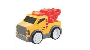 Brinquedo Super Caminhão Guindaste Aperta e Anda Yes Toys