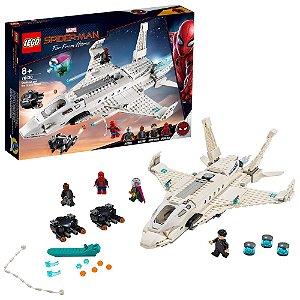 Lego Homem Aranha O Jato Stark e Ataque de Drones 76130