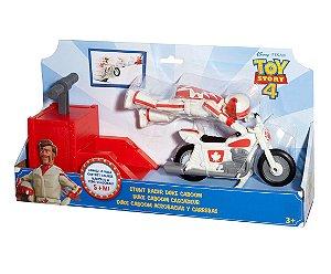 Novo Toy Story 4 Piloto de Manobras Duke Caboom Mattel Gfb55