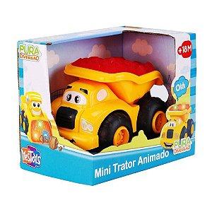 Brinquedo Infantil Mini Trator C/ Som e Luzes Yes Toys 20051