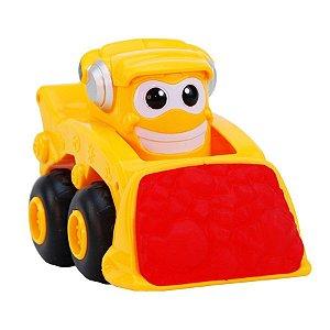 Mini Trator Escavadeira Com Som e Luzes Yes Toys 20051