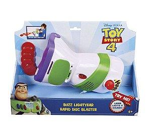 Toy Story 4 Lançador de Discos Buzz Lightyear Mattel Gdp85