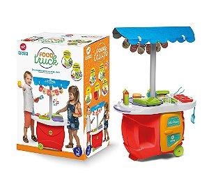 Brinquedo Colorido Cozinha Mini Chef Food Truck Calesita 353