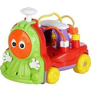 Novo Brinquedo Trenzinho Donka Verde com Som Calesita 711