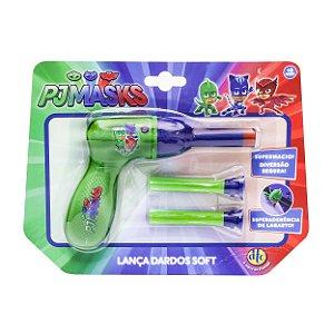 Brinquedo Lançador de Dardos Soft Shot Pj Masks Dtc 4483