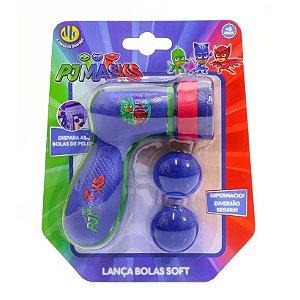 Novo Brinquedo Lançador de Bolas Soft Shot Pj Masks Dtc 4488