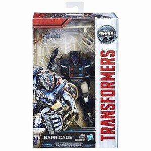 Boneco Transformers Barricade Premier Edition Hasbro C1321