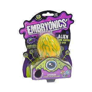 Brinquedo Ovo Alien com Slime Embryonics Surpresa Dtc 5042