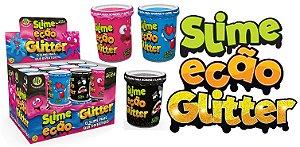 Novo Brinquedo Slime Ecao Glitter 110g Aleatório Dtc 5055