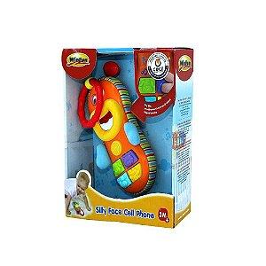 Brinquedo Infantil Celular Engraçado Do Bebê WinFun 0608