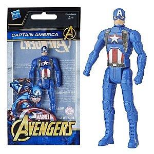 Novo Mini Figura de Açao Marvel Capitao America Hasbro E4353