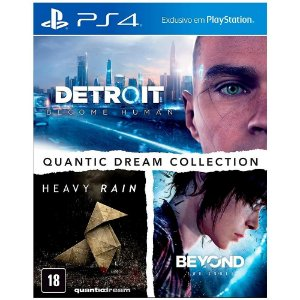 Jogo Novo Midia Fisica Quantic Dream Collection para Ps4
