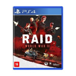 Jogo Novo Midia Fisica Raid World War 2 Original para Ps4