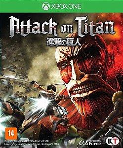 Jogo Novo Lacrado Mídia Física Attack On Titan Para Xbox One