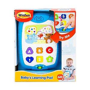 Brinquedo Infantil Tablet Divertido WinFun 0732