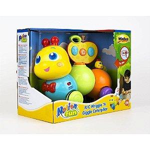 Brinquedo Lagarta Divertida De Controle Remoto WinFun 1140
