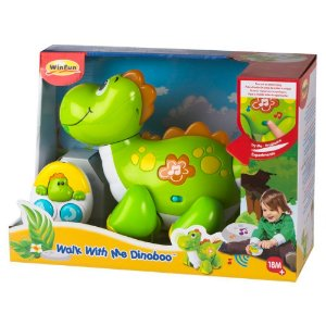 Brinquedo Dino Ande Comigo De Controle Remoto WinFun 1441
