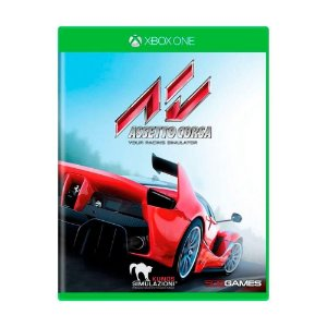 Jogo Novo Midia Fisica Assetto Corsa Original para Xbox One