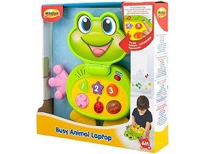 Laptop Baby Sapinho Com Sons e Luzes WinFun 8001
