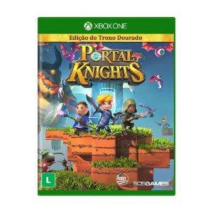 Jogo Midia Fisica Portal Knights Trono Dourado para Xbox One