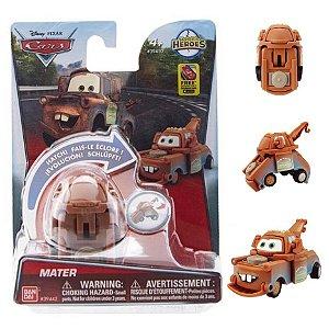 Novo Hatch n Heroes Disney Pixar Carros Mate Dtc 3716