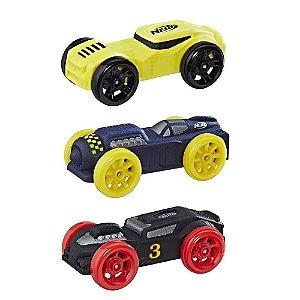 Brinquedo Nerf Nitro Pacote Com 3 Carros De Espuma C0774