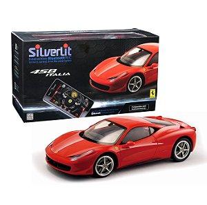 Novo Carro Roda Livre Silverlit Ferrari 458 Italia Dtc 3160
