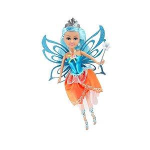 Boneca Sparkle Girlz Fada com Acessorios Surpresa Dtc 4215