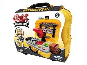 Brinquedo Playset De Ferramentas 3 Em 1 Xalingo 10843