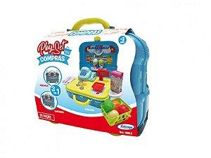 Brinquedo Playset Compras 3 Em 1 31 Peças Xalingo 10865