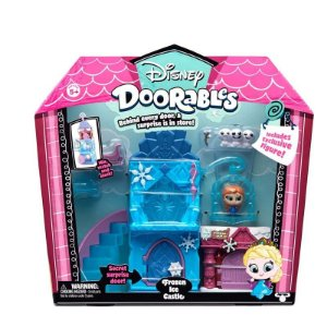 Disney Doorables Playset Castelo De Gelo Da Frozen Dtc 5085