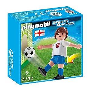 Playmobil Esportes Seleçoes Fifa Jogador Inglaterra 4732