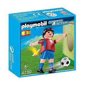 Playmobil Esportes Seleçoes Fifa Jogador Espanha 4730