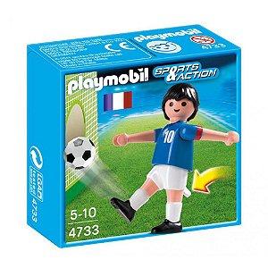 Playmobil Esportes Seleçoes Fifa Jogador França 4733