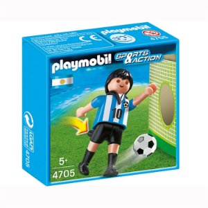 Playmobil Esportes Seleçoes Fifa Jogador Argentina 4705