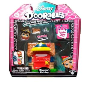 Playset Doorables Disney Oficina Do Pinóquio Dtc 5083