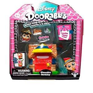 Playset Doorables Disney Oficina Do Pinóquio Dtc 5083
