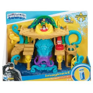 Brinquedo Aquaman Playset Imaginext Fisher Price FMX66