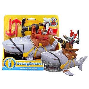 Imaginext Piratas Tubarao Mega Mordida Fisher Price Dhh64