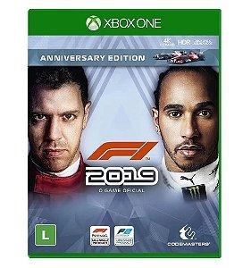 Jogo Midia Fisica F1 2019 Anniversary Edition para Xbox One