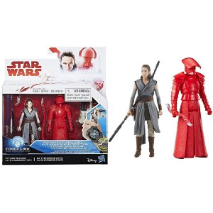 Novo Star Wars Force Link Rey e Elite Guard Hasbro C1242